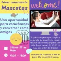 Invitacion conversatorio Mascotas